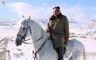 Triều Tiên chiếu phim tài liệu ông Kim Jong Un cưỡi ngựa lên núi Bạch Đầu