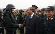 Thăm Bộ Tư lệnh Cảnh sát cơ động, Thủ tướng chia sẻ về sự việc Đồng Tâm