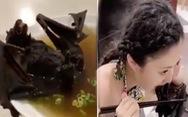 'Người phụ nữ trẻ ăn dơi' không phải người Vũ Hán