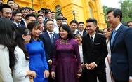 Phó chủ tịch nước Đặng Thị Ngọc Thịnh: 'Nghèo vì không có ước mơ, không dám ước mơ'