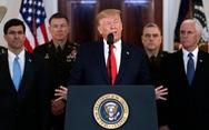 Ông Trump: 'Không có thương vong nào, Mỹ sẽ tăng trừng phạt kinh tế với Iran'