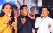 Thanh Ngân, Tạ Minh Tâm, Đàm Vĩnh Hưng hát mừng thành công Đại hội Đảng