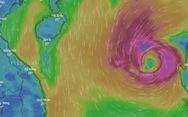 Bão số 8 đang mạnh lên, gió giật cấp 13 và tiếp tục tiến gần Hoàng Sa