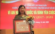 Nữ đại úy 8X người Tày giành 2 giải A cuộc thi viết văn về đề tài vì an ninh Tổ quốc