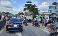 7 ôtô tông liên hoàn, lao vào quán nước và nhà dân ven quốc lộ 1