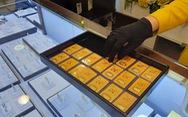 Vàng trong nước không tăng theo giá thế giới nhưng vẫn cao hơn 2,64 triệu/lượng
