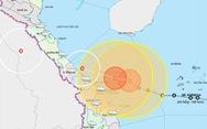 22h tối nay 14-11, bão Vamco cách Đà Nẵng 80km, đất liền gió giật cấp 10