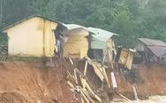 Sạt lở bờ sông, 14 ngôi nhà ở xã Trà Leng bị cuốn trôi
