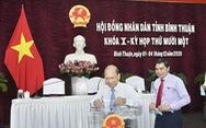 Ông Nguyễn Hoài Anh đắc cử chủ tịch HĐND tỉnh Bình Thuận