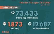 Dịch COVID-19 ngày 18-2: thêm 88 ca nhiễm trên du thuyền Diamond Princess