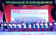 Ba đề cử Gương mặt trẻ Việt Nam tiêu biểu đoạt giải Gương mặt trẻ tiêu biểu toàn quân