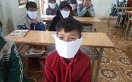 Sở GD-ĐT Nghệ An: phê bình giáo viên đăng ảnh học sinh đeo khẩu trang giấy là sai