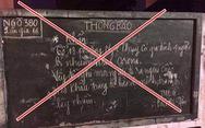 Viết sai thông tin 'Hà Nội có 4 người nhiễm virus corona' lên bảng tin tổ dân phố