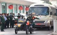 Diễn tập đón công dân Việt Nam từ vùng dịch trở về Huế