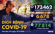 Dịch COVID-19 ngày 16-3: Châu Âu đề xuất cấm du lịch 30 ngày để chặn dịch