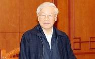 Tổng Bí thư, Chủ tịch nước Nguyễn Phú Trọng chủ trì họp Tiểu ban Nhân sự