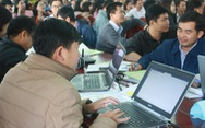 Triển khai chương trình giáo dục mới: tập huấn, nghiên cứu tài liệu dạy học qua mạng
