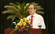 Bí thư Nguyễn Thiện Nhân: 'Để học sinh đi học lại an toàn là nhiệm vụ, thách thức'