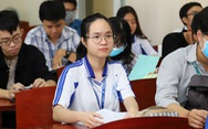 Sáng nay, sinh viên ĐH Y dược TP.HCM trở lại trường