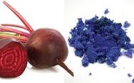 Khoa học tạo ra màu mới: xanh củ dền