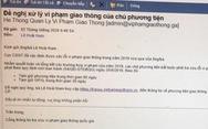 Nhận email từ Cục CSGT báo lỗi vi phạm giao thông? Chắc chắn bẫy lừa!