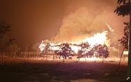 Sấm sét đốt nhà rông nổi tiếng Kon Tum thành 'ngọn đuốc khổng lồ'