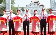Thủ tướng dự lễ khánh thành đền thờ gia tiên Chủ tịch Hồ Chí Minh