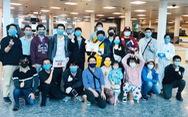 340 công dân Việt Nam từ Ấn Độ về đến sân bay Cần Thơ