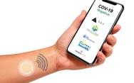Miếng dán đo thân nhiệt giúp phát hiện bệnh COVID-19