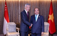 Thủ tướng Singapore Lý Hiển Long cảm ơn Việt Nam đã 'hào phóng tặng vật tư y tế'