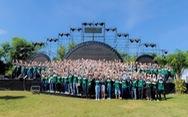 Hơn 700 thanh niên dự hội trại 'Tuổi trẻ Vietcombank - Sắt son niềm tin với Đảng'