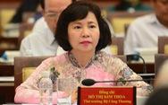 Cựu thứ trưởng Bộ Công thương Hồ Thị Kim Thoa nhận quyết định khởi tố