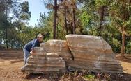 Một người tố cáo 3 tảng đá của mình bỗng dưng 'lạc' vào khu du lịch