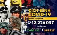 Dịch COVID-19 ngày 14-7: Tổng giám đốc WHO cảnh báo 'quá nhiều nước đi sai hướng'