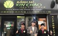 Bánh mì Xin chào của người Việt nổi danh trên nhiều kênh báo chí hàng đầu Nhật Bản