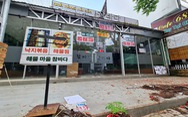 Tan tác phố Hàn Quốc ở Sài Gòn