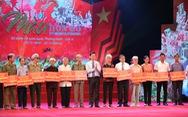 Chương trình 'Màu hoa đỏ' Món quà ý nghĩa tri ân những người có công