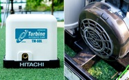 'Điểm mặt' những mẫu máy bơm nước nổi bật không thể bỏ qua của Hitachi