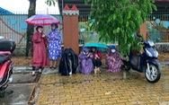 Bão Jangmi và áp thấp nhiệt đới gây mưa toàn Nam Bộ nhiều ngày tới