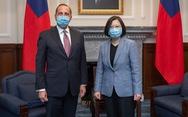 Thăm Đài Loan, bộ trưởng Mỹ chỉ trích Trung Quốc