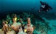 Bảo tàng dưới biển đầu tiên trưng bày hàng ngàn bình cổ trước công nguyên