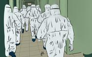 Cảm động bộ tranh chiến sĩ 'áo trắng, áo xanh' chống dịch của sinh viên Đà Nẵng