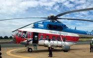 Máy bay trực thăng chở đề thi tốt nghiệp THPT ra Côn Đảo