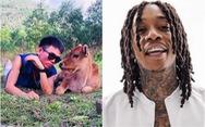 YouTuber chăn bò của Việt Nam hợp tác với rapper Mỹ đình đám Wiz Khalifa