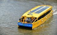 Tập đoàn điện lực Thái Lan ra mắt xe máy và tàu thủy chạy bằng điện