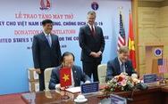100 máy thở Mỹ sẽ được lắp tại các bệnh viện công Việt Nam