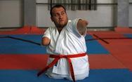 Ý chí của võ sĩ karate không chân tay
