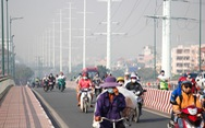 TP.HCM sương mù dày đặc từ sáng tới trưa