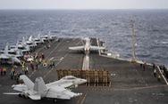 Tàu sân bay Mỹ lần đầu tới Biển Đông dưới thời Tổng thống Biden