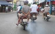Kiểm soát khí thải xe máy ở TP.HCM: Làm ở trung tâm rồi mở rộng dần